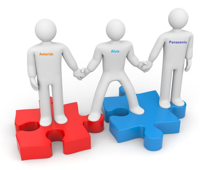 Гибридное решение объединения офисов с использований технологий Alvis
