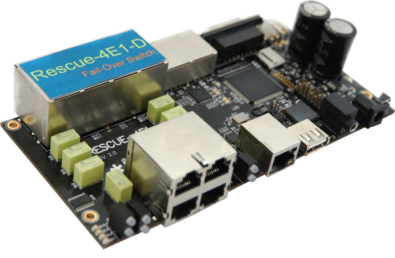 Инновационное  устройство повышения отказоустойчивости Rescue-4E1